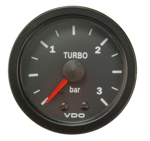 "Turbo meter ""COCKPIT VISION"", 52 mm"