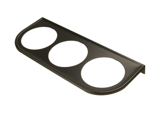 Instrument holder (3 cut outs), black