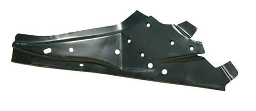 Bumpersteun beplating achter links 8.67-