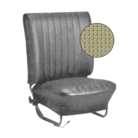 Seat upholstery convertible beige set 8.67-7.72