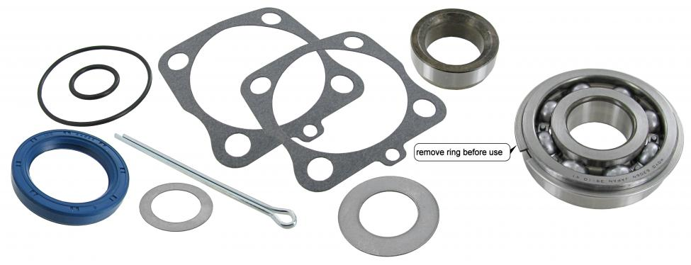 wiellager set, achter, swing axle, (Top-quality)