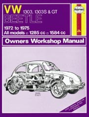 Owner Workshop Manual Kever 1303 & 1303 S -.75 (English)