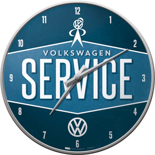 Wall Clock VW Service